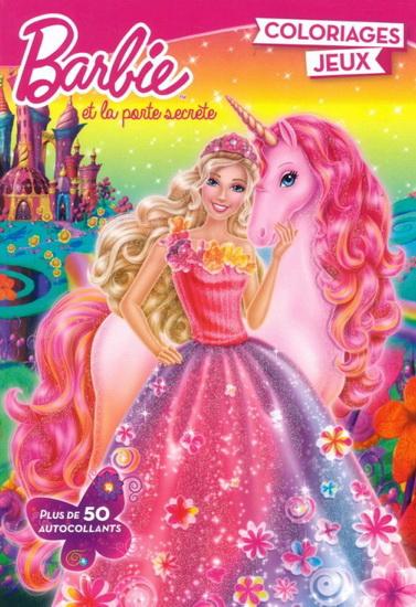 Barbie Et La Porte Secrete Coloriages Jeux Archambault
