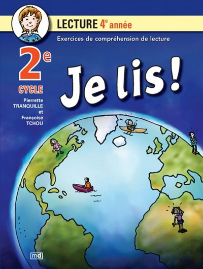 Comprehension Lecture 2e Cycle 4e Annee Archambault